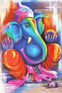 Ganesha Blue Ganesha
